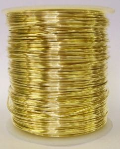 Yellow Brass Wire