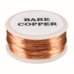 99% pure bare copper wire