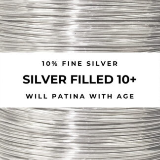 silver-filled craft wire