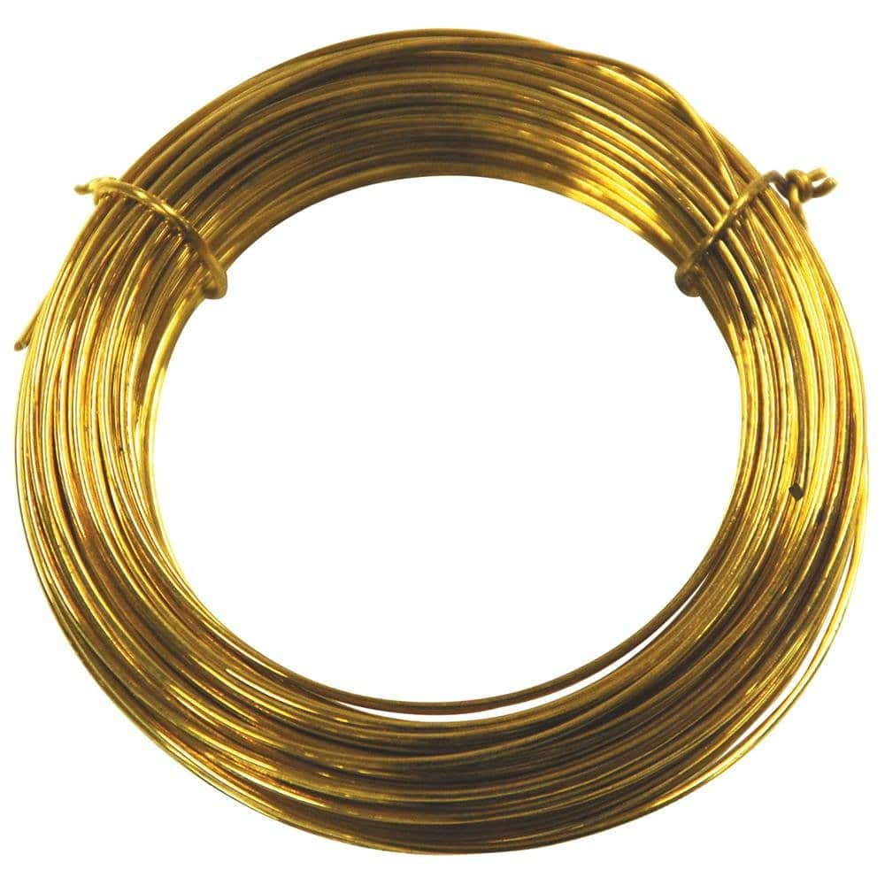 Bare brass wire parawire for 24 gauge craft wire