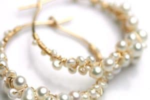 Gold Wire twisted bracelet