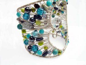 silver wire cuff