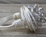 twisted silver wire ring