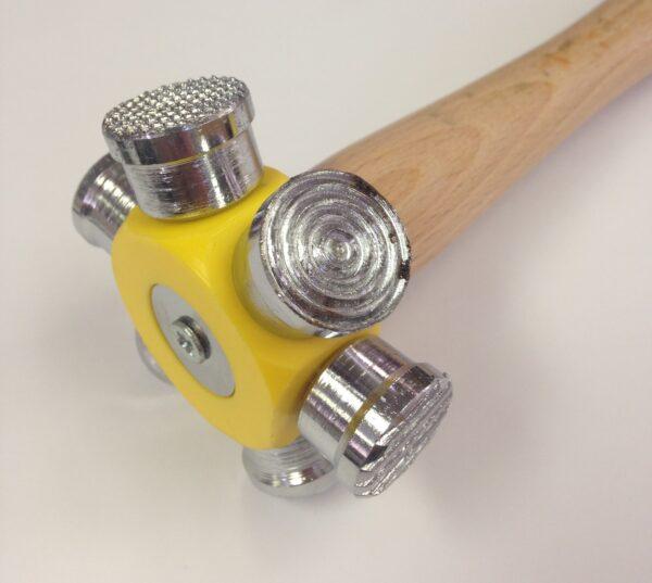 6 - in 1 Texture hammer