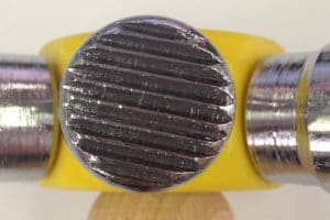 texture hammer head