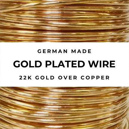 gold plated craft wire
