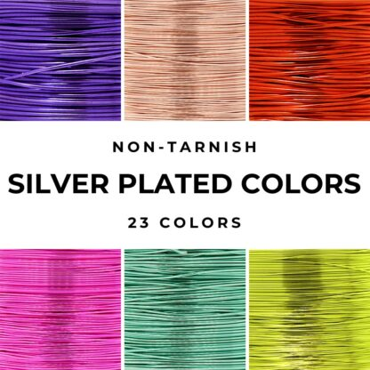 silver plated craft wire