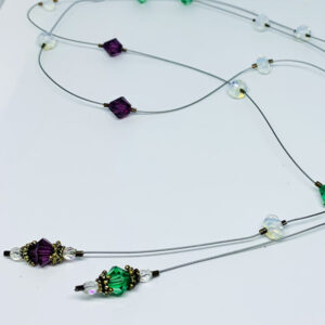 beads on flexible beading wire