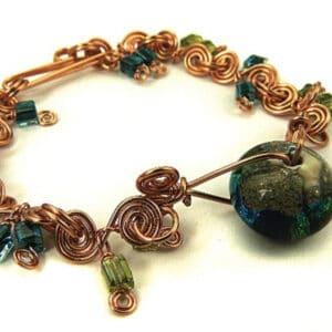 craft wire bracelet