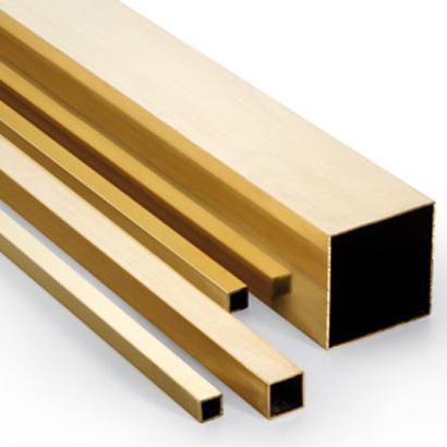 square brass tubes